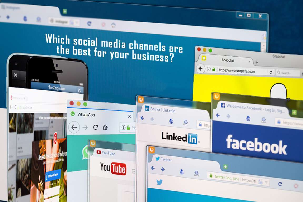 Which social media channels are the best for your business?