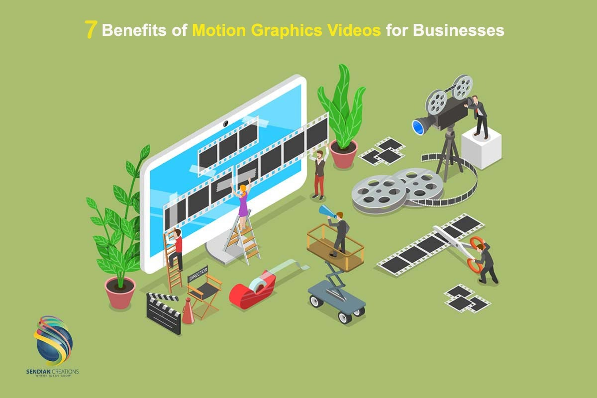 7 Benefits of Motion Graphics Videos for Businesses